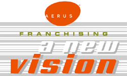 image of logo of Aerus franchise business opportunity Aerus air purifier franchises Aerus franchising