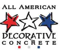image of logo of All American Decorative Concrete franchise business opportunity All American Decorative Stamped Concrete franchises All American Decorative Concrete franchising