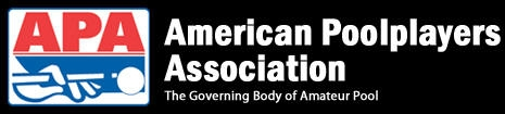 image of logo of American Poolplayers Association franchise business opportunity APA franchises American Poolplayers Association franchising