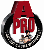 image of logo of A-Pro Home Inspection franchise business opportunity APro Home Inspection franchises A Pro Home Inspection franchising
