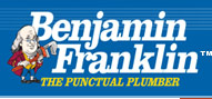 image of logo of Benjamin Franklin Plumbing franchise business opportunity Benjamin Franklin franchises Benjamin Franklin Plumber franchising