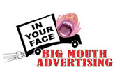 image of logo of Big Mouth Advertising franchise business opportunity Big Mouth Advertising franchises Big Mouth Advertising franchising
