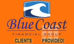 image of logo of Blue Coast Financial Group franchise business opportunity Blue Coast Financial Group franchises Blue Coast Financial Group franchising