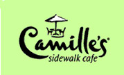 image of logo of Camille's Sidewalk Cafe franchise business opportunity Camille's Cafe franchises Camille's Sidewalk franchising coffee shop franchise
