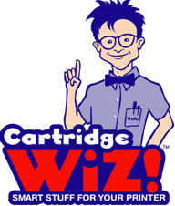 image of logo of Cartridge Wiz franchise business opportunity Cartridge Wiz ink refill franchises Cartridge Wiz toner cartridge franchising