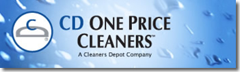 image of logo of CD One Price Cleaners franchise business opportunity CD One Price Cleaners franchises CD One Price Cleaners franchising