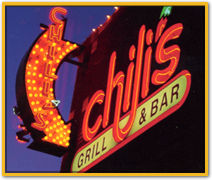image of logo of Chili's Grill and Bar franchise business opportunity Chili's Grill franchises Chili's franchising