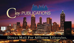 image of logo of City Publications franchise business opportunity City Publications direct mail franchises City Publications card pack franchising