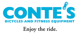 image of logo of Conte's Bicycles and Fitness Equipment franchise business opportunity Conte's Bicycles and Fitness Equipment franchises Conte's Bicycles and Fitness Equipment franchising