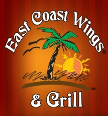 image of logo of East Coast Wings & Grill franchise business opportunity East Coast Wing franchises East Coast Wings franchising