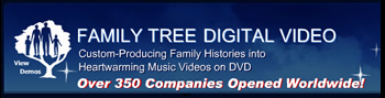 image of logo of Family Tree Video franchise business opportunity Family Tree Video franchises Family Tree Video franchising