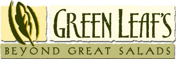 image of logo of Green Leaf's Beyond Great Salads franchise business opportunity Green Leaf's Salad franchises Green Leaf's franchising