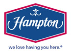 image of logo of Hampton Inn & Suites franchise business opportunity Hampton Inn franchises Hampton Inn hotel franchising