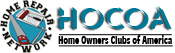 image of logo of Home Owners Club of America franchise business opportunity Home Owners Club America franchises HOCOA franchising