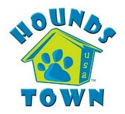 image of logo of Hounds Town USA franchise business opportunity Hounds Town USA franchises Hounds Town USA franchising