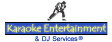 image of logo of Karaoke Entertainment & DJ Services franchise business opportunity Karaoke Entertainment franchises Karaoke franchising