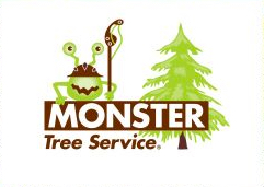 image of logo of Monster Tree Service franchise business opportunity Monster Tree Service franchises Monster Tree Service franchising