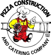 image of logo of Pizza Construction and Catering Company franchise business opportunity Pizza Construction franchises Pizza Construction and Catering Company franchising