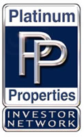 image of logo of Platinum Properties Investor Network franchise business opportunity Platinum Properties franchises Platinum Properties real estate investment franchising