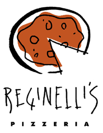 image of logo of Reginelli's Pizzeria franchise business opportunity Reginelli's Pizza franchises Reginelli's franchising