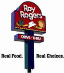image of logo of Roy Rogers franchise business opportunity Roy Rogers drive thru restaurant franchises Roy Rogers restaurants franchising