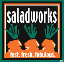 image of logo of Saladworks franchise business opportunity Salad Works franchises Saladworks franchising