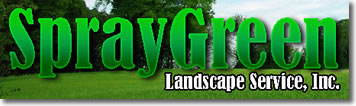 image of logo of SprayGreen Lawncare franchise business opportunity Spray Green Lawn Care franchises Spray Green Lawncare franchising