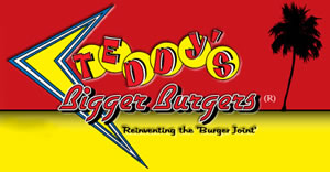 image of logo of Teddy's Bigger Burgers franchise business opportunity Teddy's Bigger Burger franchises Teddy's Bigger Burgers franchising