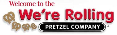 image of logo of We're Rolling Pretzel franchise business opportunity We're Rolling Pretzel franchises We're Rolling Pretzel franchising